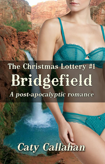 Christmas Lottery 1 Bridgefield by Caty Callahan | Sweet Christian Romances with Adventure