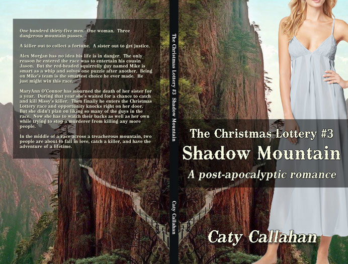 Christmas Lottery 3 Shadow Mountain by Caty Callahan | Sweet Christian Romances with Adventure
