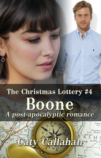 Christmas Lottery 4 Boone by Caty Callahan | Sweet Christian Romances with Adventure